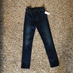 NWT J Brand Cameron Corset Ankle Skinny Jeans